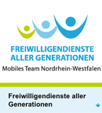 Website des Mobilen Teams Nordrhein-Westfalen der Freiwilligendienste aller Generationen