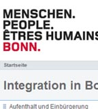 Integrationsportal der Stadt Bonn